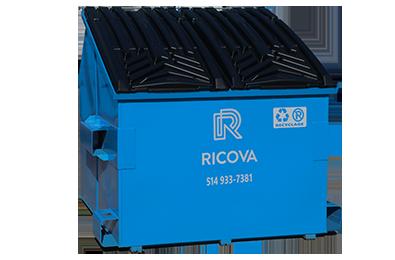 Location conteneurs recyclage 8 verges