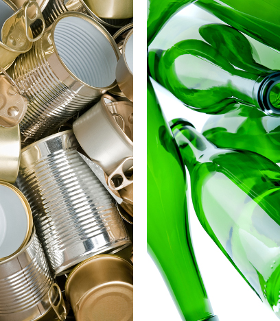 Ricova recyclage metal verre